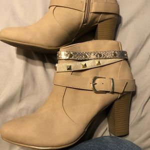 Booties with Bling